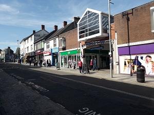 Bridgend town centre