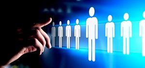 Stock image of recruitment